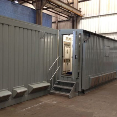 One of our bespoke Principal Supply Points containers.