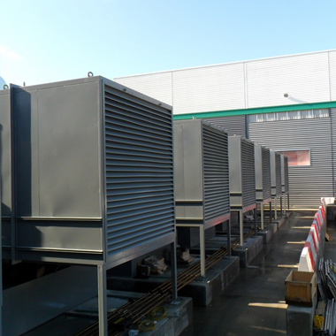 6 of the 7 quiet commissioned containers.